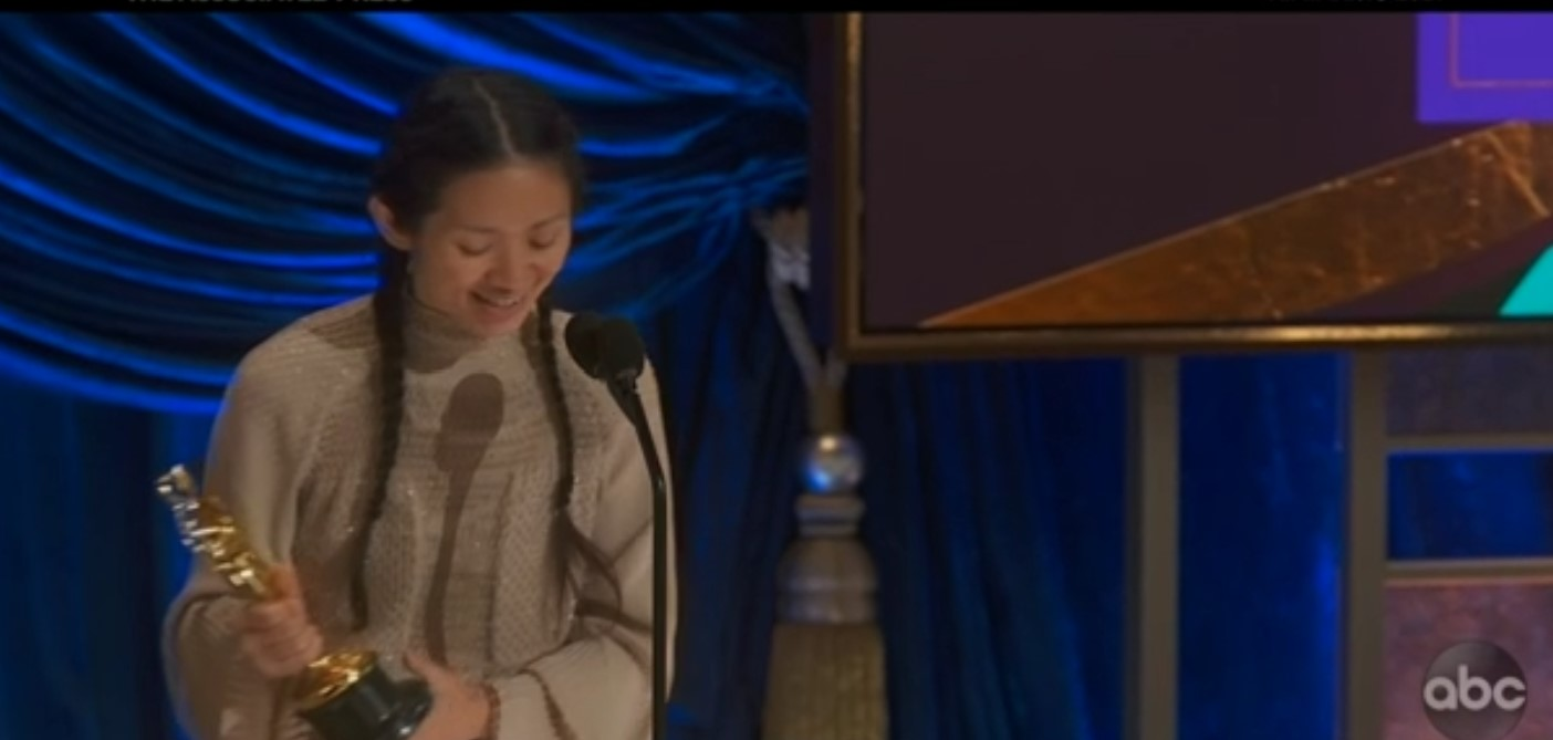 'Nomadland' wins big at the Oscars