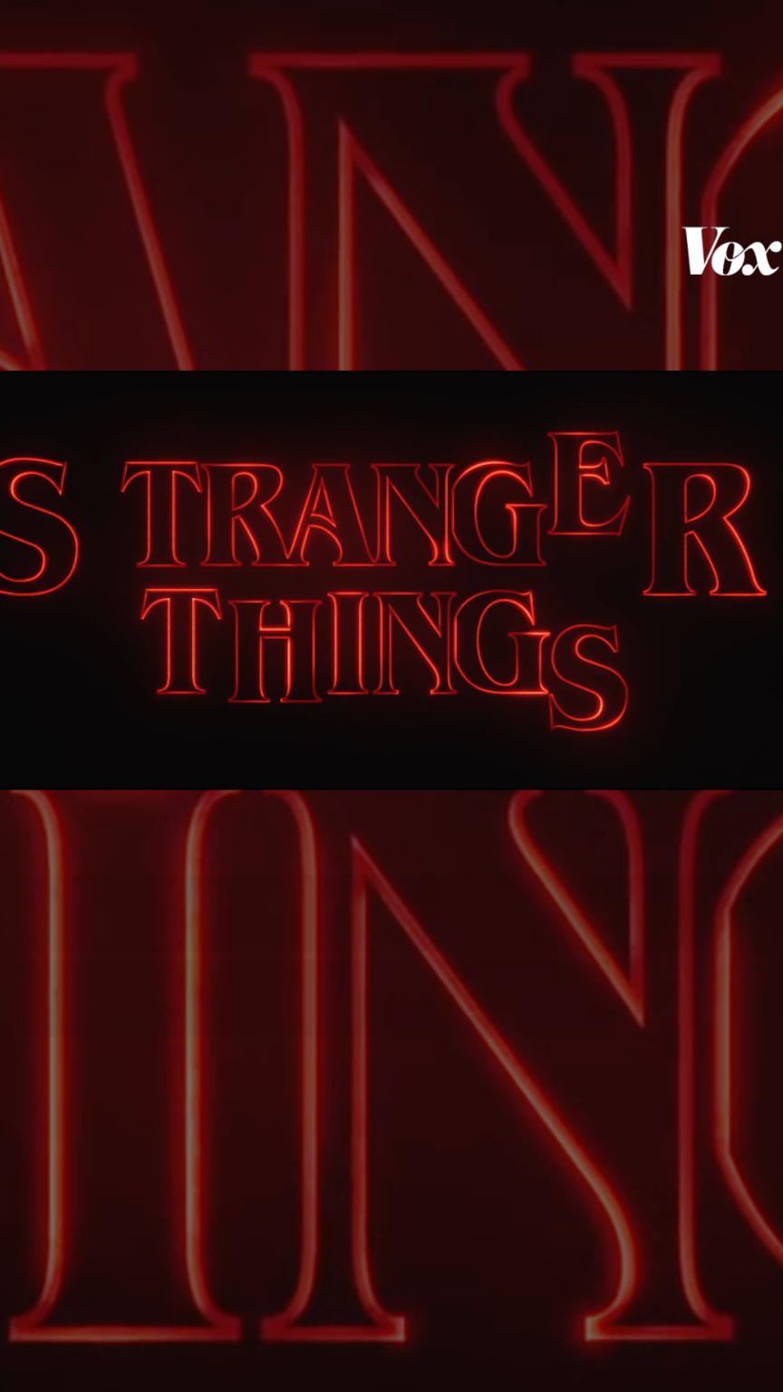 How Stranger Things got its retro title sequence - Vox