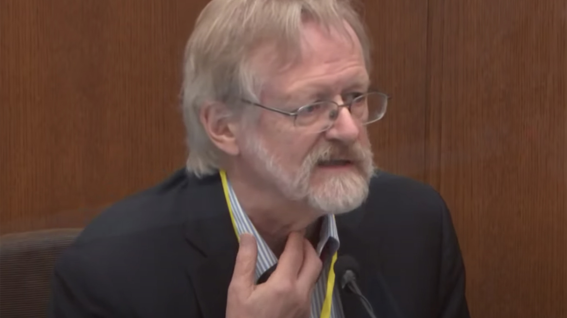 Breathing expert: Floyd died from lack of oxygen under Chauvin